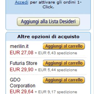 Buy Box di Amazon