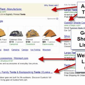 widget google shopping