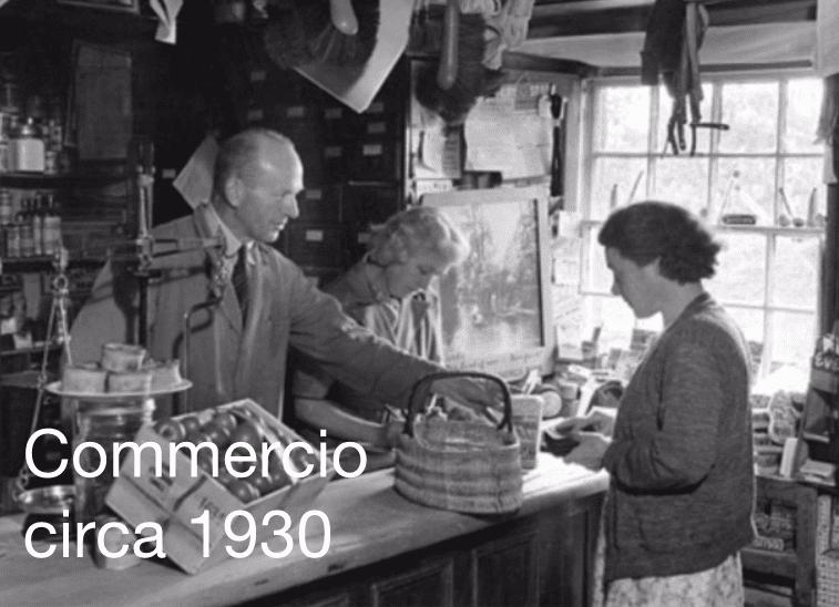 commercio circa 1930