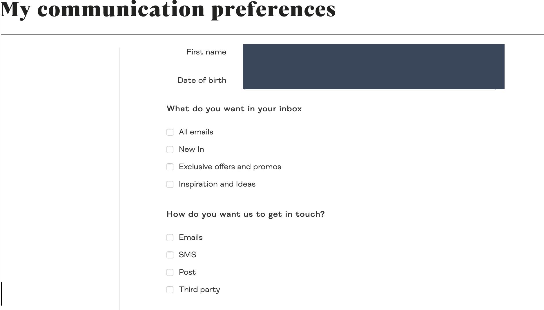 made-centro-preferenze